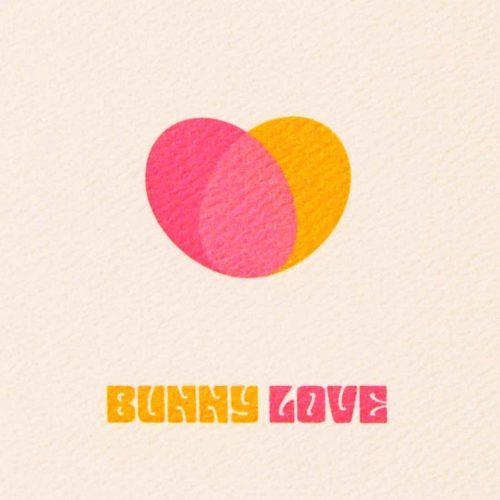 Image of Bunny Love Easter card cover