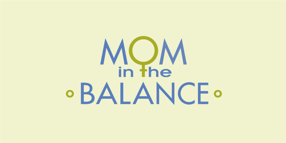 Image of Mom in the Balance logo