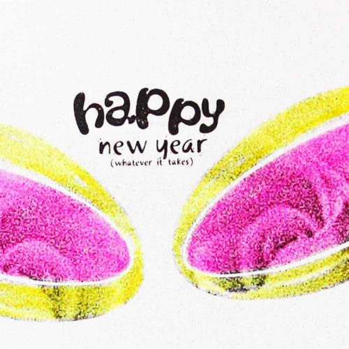 Image of New Year card detail