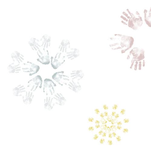 Image of Flu Season snowflakes