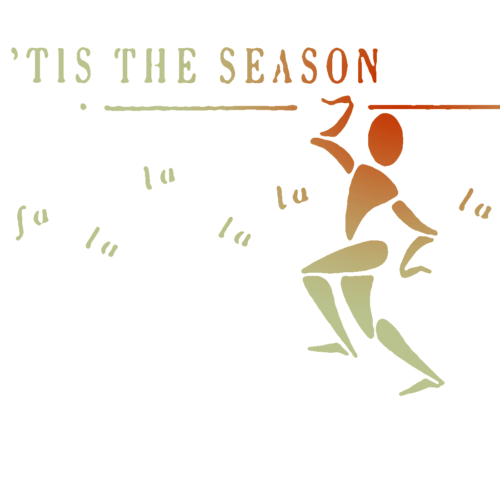 Image of Holiday Moving card dancer