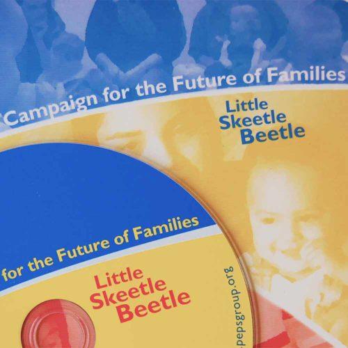Image of PEPS Benefit CD art