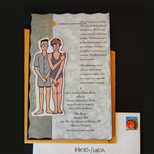 Image of Wedding card